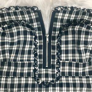 Torrid Plus Size Retro Plaid Pin-up Pencil Dress